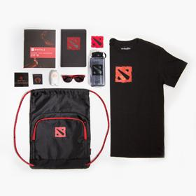 The International DOTA 2 Championships Swag Bag Kit
