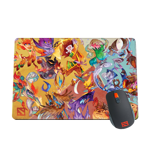 Power of the Watercolor Heroes Mousepad