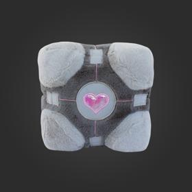 Snuggable Companion Cube Plush