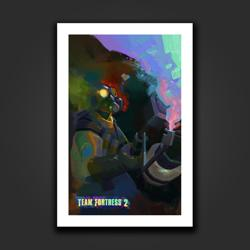 Taste The Flamebow Art Print