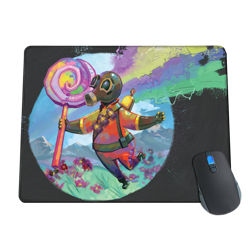 Pyro Water Color Fantasy Mousepad