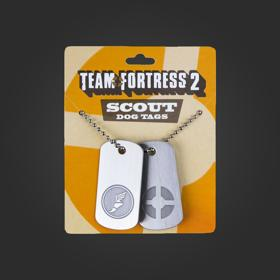 Valve TF2 Dog Tags