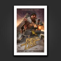 End of the Line Movie Art Print