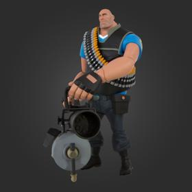 TF2 Heavy Action Figure