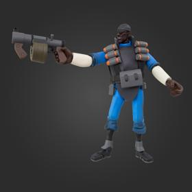 TF2 Demoman Action Figure