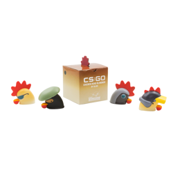 CSGO Chicken Heads Blind Box Figure